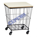 * ADVERTISING * Table basket on wheels, about 45cm