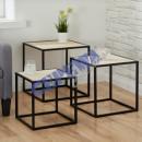 Tisch Set cube, 3er Set