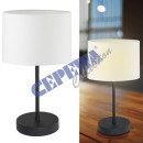 wholesale Lampes: Table lamp Basic, white, approx. 30cmH