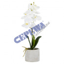 wholesale Artificial Flowers: Artificial flower in a pot, orchid, approx.40cmH