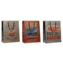 grossiste Cadeaux et papeterie: sac de cadeau   Vintage , 2 / s, 26x33cm