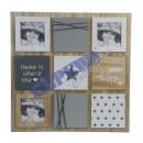 Großhandel Bilder & Rahmen: Bilderrahmen  Stars , 46x46cm