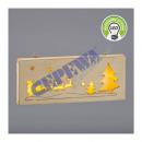 LED Deko 'Weihnachtsschlitten', 25x10cm