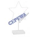 LED Stern auf Fuß, 20 LED, 35cm h
