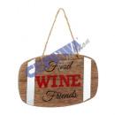 wholesale Food & Beverage: Hanger wine barrel, 12x7,5cm