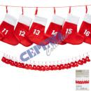Großhandel Strümpfe & Socken:Adventskette ' Socken '