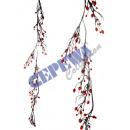 grossiste Fleurs artificielles: Dekozweig  houx , environ 120cm