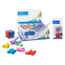 Eraser di puzzle cubo, set di 2