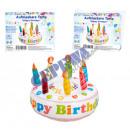 Gonfiabile Torta Buon Compleanno, 26 centimetri