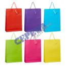 grossiste Cadeaux et papeterie: sac-cadeau de  couleur, triés 6 fois, L
