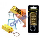 grossiste Cadeaux et papeterie: / Décapsuleur  lingots d'or Porte-clés