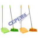 groothandel Reinigingsproducten: Besenset Neon,  2tlg naargelang 2-voudig