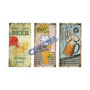 wholesale Other: Image  Beer , MDF,  3 / s, approx 30x60 cm