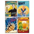 wholesale Pictures & Frames: Metal sign beer , 30x40cm 4 / s
