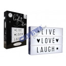 * ADVERTISING *  LED collection contains 85 letters