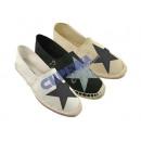 wholesale Shoes: Women Espadrilles  Star , 3 / s