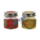 Großhandel Kerzen & Kerzenhalter: Duftkerze im Glas   Tropical , 2/s, mit Deckel