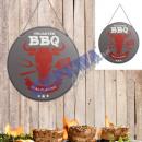 mayorista Barbacoas y accesorios: Muestra del metal barbacoa 2 / s, de 30 cm de di