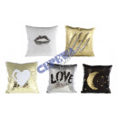 wholesale Cushions & Blankets: Pillows 'Glamor', 5 / s, approx. ...