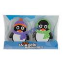 Großhandel Bettwäsche & Matratzen: Taschenheizkissen 'Pinguin', 2er Pack