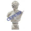 mayorista Mobiliario y accesorios oficina y comercio: Busto deco  'Adonis',  alrededor de 60 cm ...