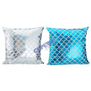 Pillows , mermaid, fish scales, 2 / s, about 40x40