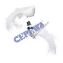 Klip ślubne gołębie, 2 / s, około 9cmH