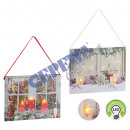 LED picture Christmas candles, for hanging, 2 / s,