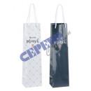 Bottle bag, heart person, 2 / s, ca.35cmH