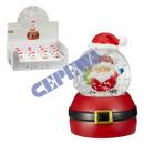 Snowglobe Święty Mikołaj, około 8 cmH