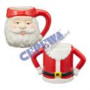 Kubek dekoracyjny Święty Mikołaj, 2 / s, ca 10cmH