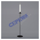 Candlestick Basic, black, L, ca. 50cmH