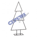 Deco stand tree, black, about 77cmH
