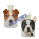 Hot water bottle, dogs, 2 / s, approx. 1l