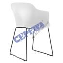 mayorista Mobiliario de oficina: Silla de estilo, blanca, con reposabrazos, ...