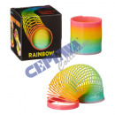 Rainbow spiral, small, about 7cmD