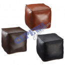 wholesale Other: * ADVERTISEMENT * Pouf, angular, 3 / s, approx. 45