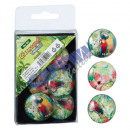 wholesale Drinking Glasses: Glass Magnet Tropical, Set of 6