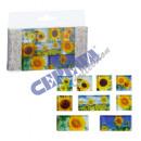 Magnet-Set 'Sonnenblume', 9er Set