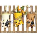 groothandel Bloemenpotten & vazen: Cachepot Funny dieren naargelang,