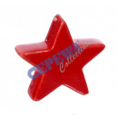 Deco star, red, S, about 7cm