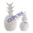 grossiste Epargner boite: Tirelire  ananas , blanc, kl., 15cm