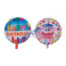 nagyker Üdvözlőkártyák: Filmek léggömb Happy Birthday 2 / s, ca.45cmD