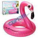 Großhandel Wassersport & Strand: Aufblasbares Schwimmtier 'Flamingo' ca.100cmD