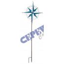 Windrad ' Kompass', ca.42x160cmH