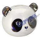 mayorista Caja fuerte: Caja de dinero Panda cabeza, pequeña, ca. 11,5cm