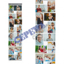 Photo holder with 16 pockets, for Foto Quer &