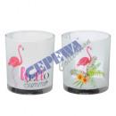 Lantern, Flamingo, 2 / s, about 8cmH