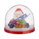 Snow Globe Santa, 3 / s, kl., Ok. 5cmH