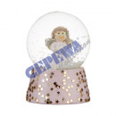 wholesale Snow Globes: Snowglobe Angel, small, about 6,5cmH